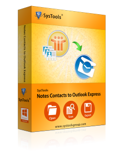 Notes Contacts to Outlook Express Box